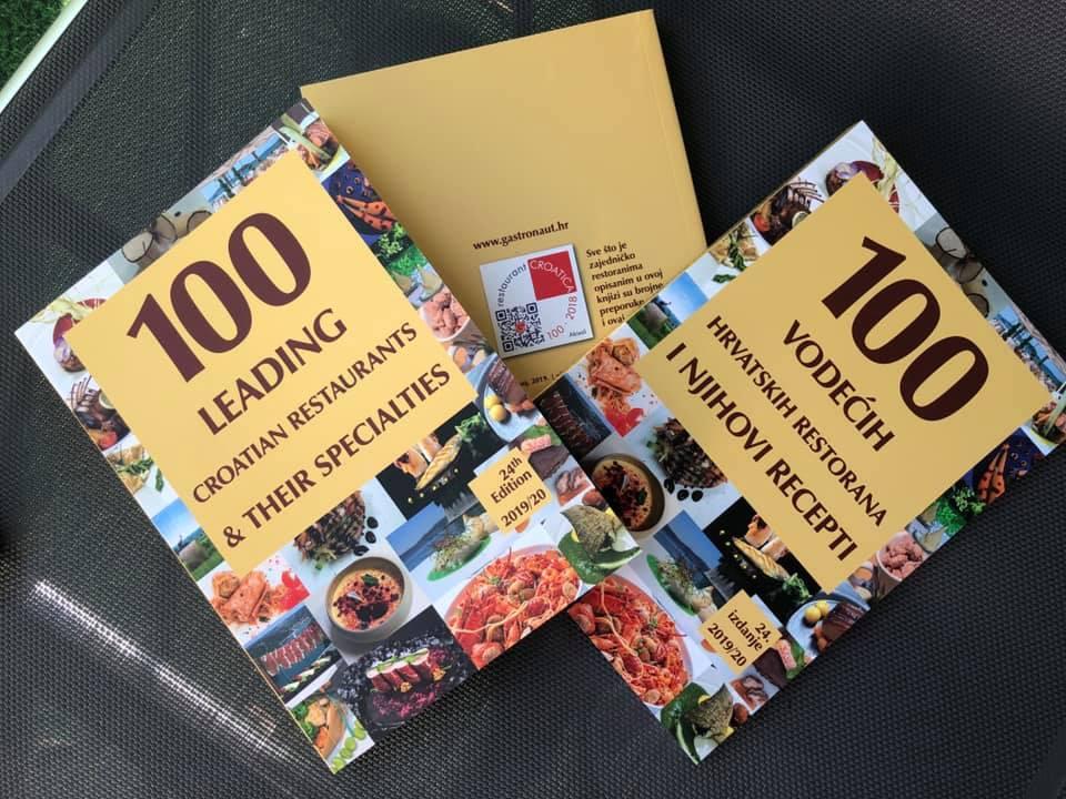 100 vodećih hrvatskih restorana